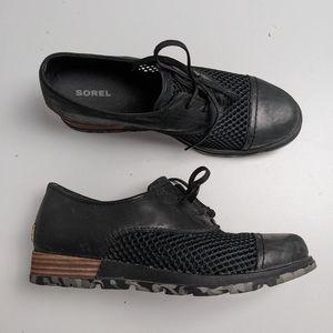 Sorel Mesh Oxford Shoes Loafer Women's 7